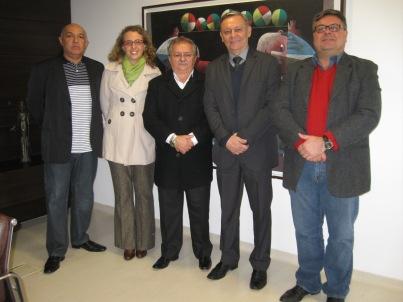 Ivo, Lidiane, Luiz, Bigardi, Sartori
