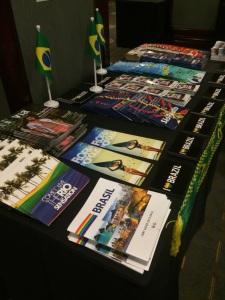 Material promocional do Brasil distribuído na IGLTA 2015
