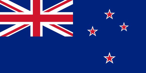 A bandeira atual leva a Constelação do Cruzeiro do Sul e inclui no topo uma referência ao Reino Unido, antigo colonizador do país, o que é criticado por muitos neozelandeses. Foto: internet