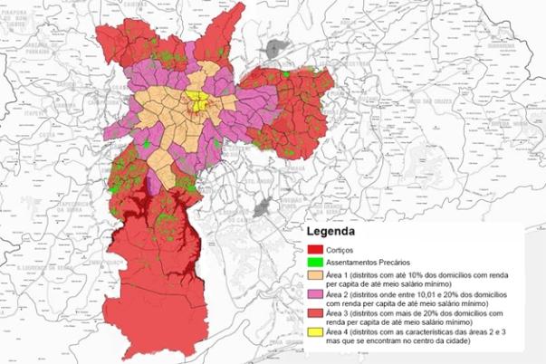 Mapa Ilustrado: Movimento Cultural das Periferias (Aluízio Marino)