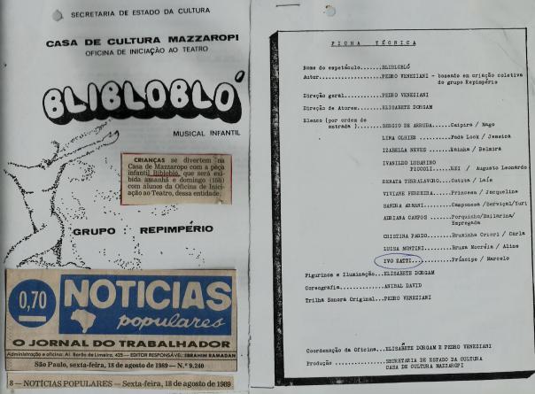 BLI BLO BLO - GRUPO REPIMPÉRIO - IVO ZATTI - J. IVO BRASIL