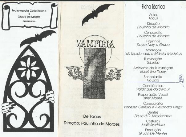 VAMPIRIA - GRUPO DE MENTES - SONOPLASTIA - IVO ZATTI - J. IVO BRASIL